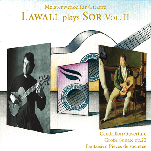 Lawall plays Sor Vol. II