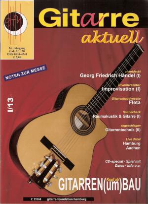 Gitarre aktuell Titelseite 1 - 2012