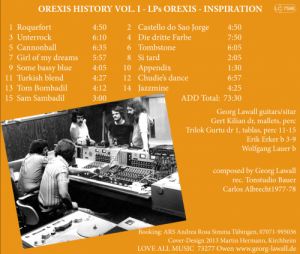OREXIS History Vol. I Inlay